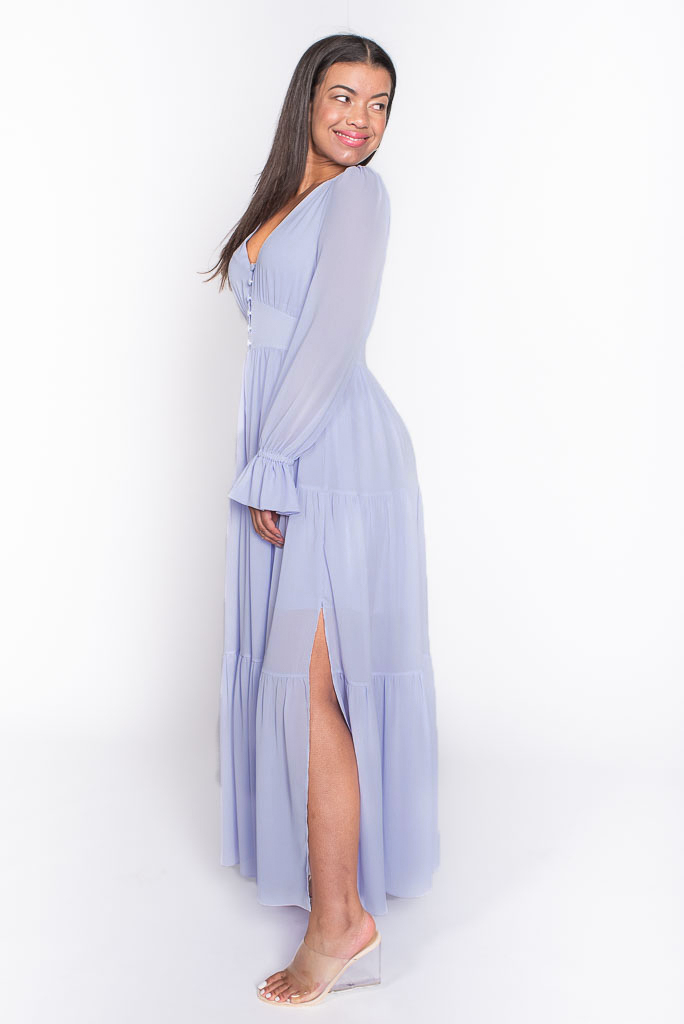 Boho Maxi dress side
