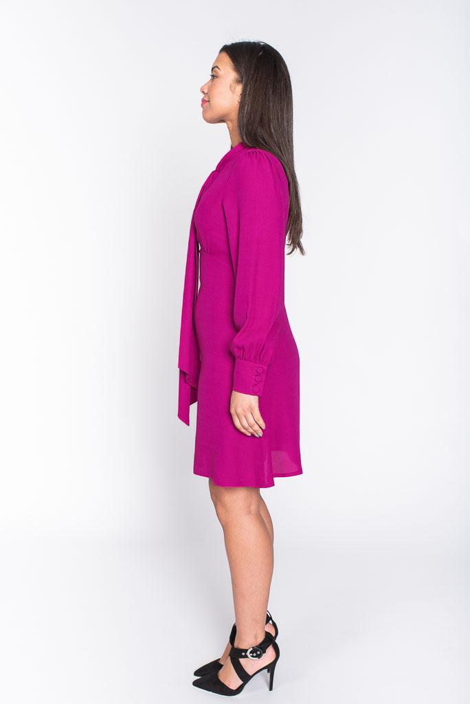 Pippa midi dress side
