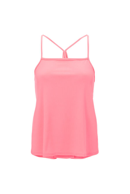 Hot pink sports top