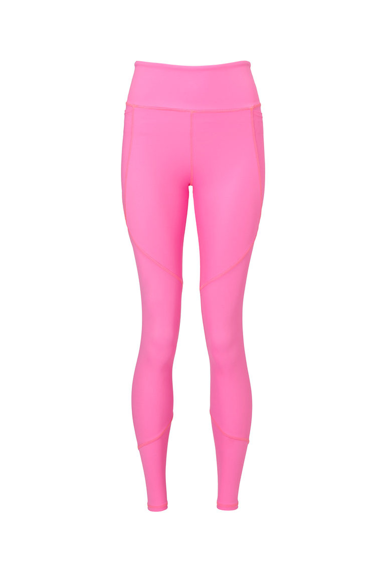 Hot pink sport leggings