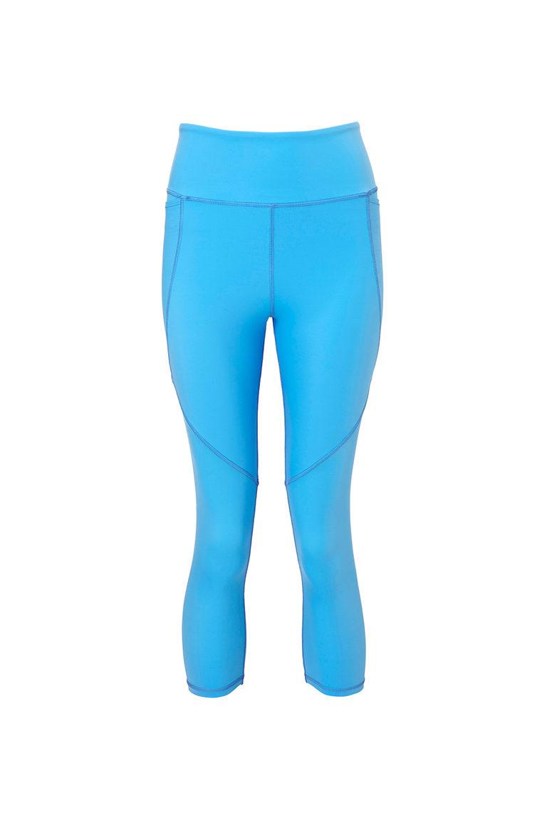 Blue sports capri